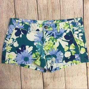 Mossimo Floral Print Shorts Size 3